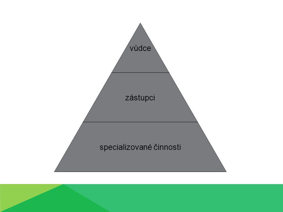 Vnitřní strukturou skupiny se zabývá sociometrie.