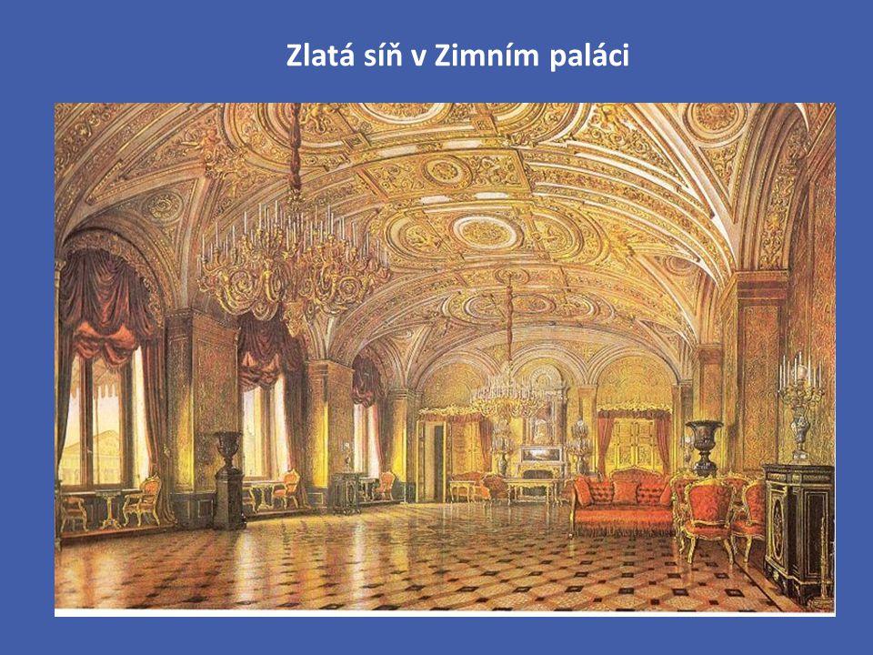 Zlatá síň v Zimním paláci