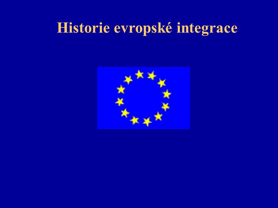 Historie evropské integrace