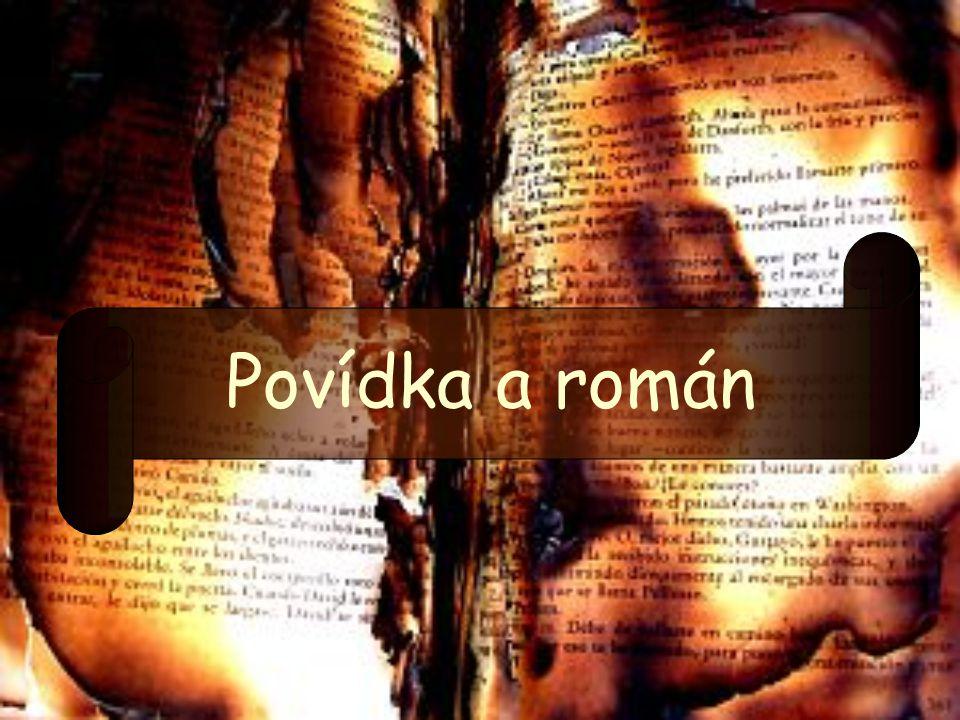 Povídka a román