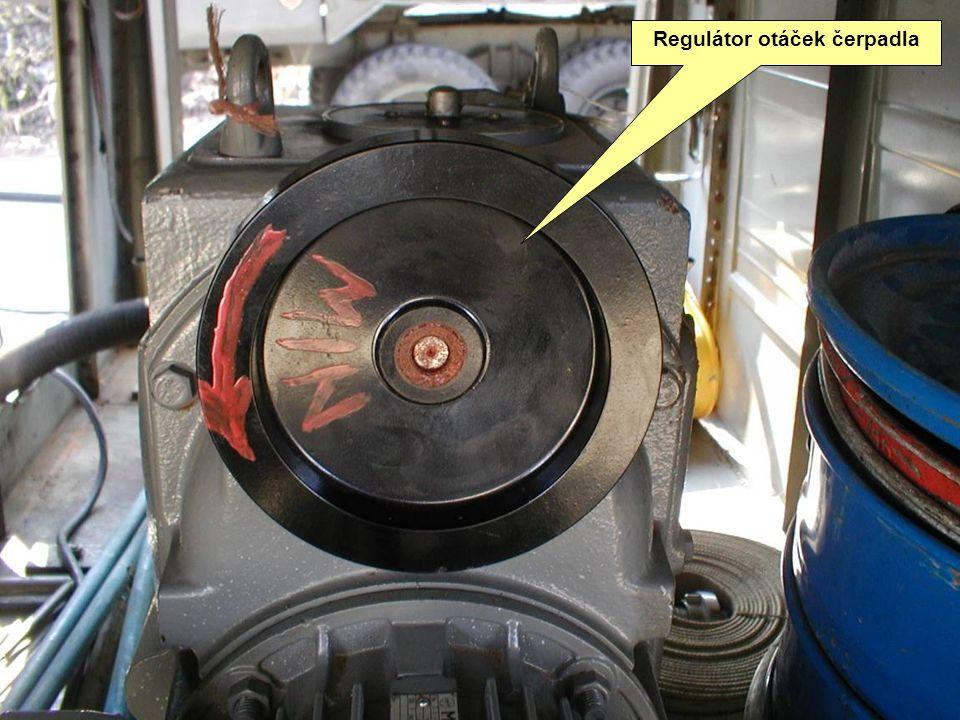 Regulátor otáček čerpadla