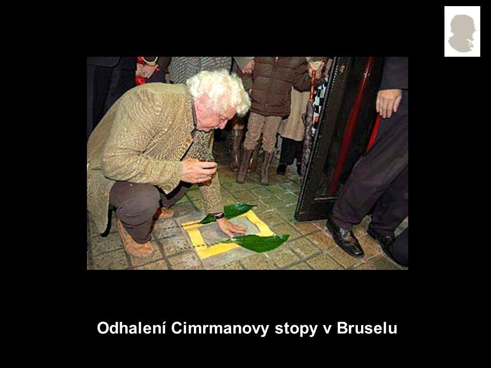 Odhalení Cimrmanovy stopy v Bruselu