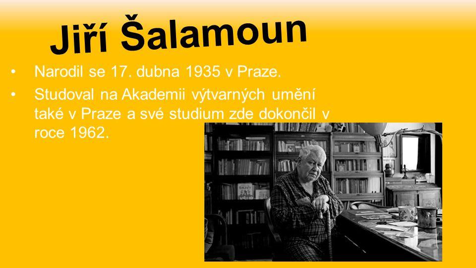 Narodil se 17. dubna 1935 v Praze. Studoval na Akademii výtvarných umění také v Praze a své studium zde dokončil v roce 1962. Jiří Šalamoun