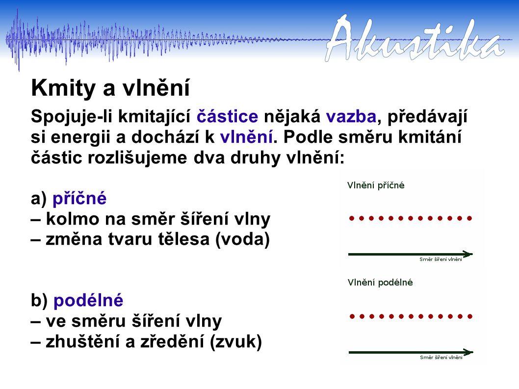 Kmity a vlnění Úkol č.