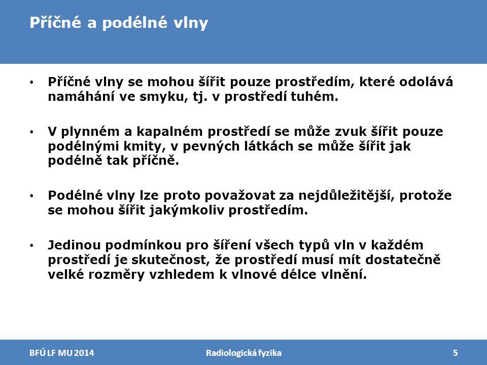 Huygensův princip Radiologická fyzika16BFÚ LF MU 2014