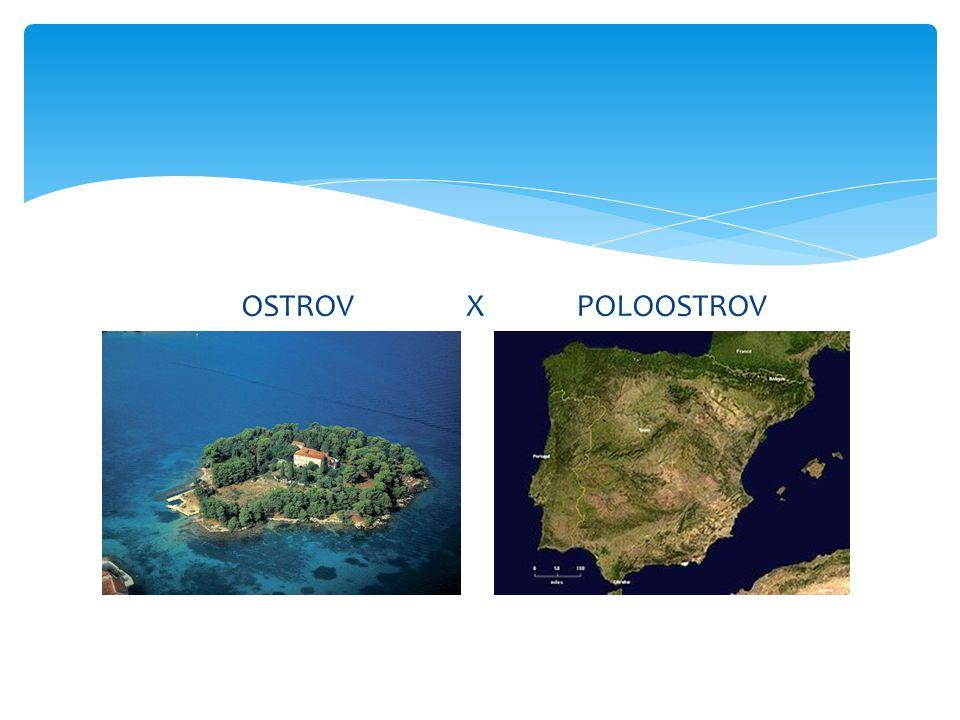 OSTROV X POLOOSTROV