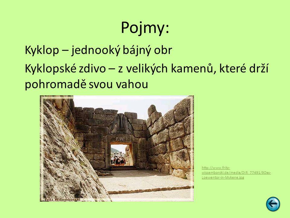 Zápis Mykénské Řecko 16.– 11. století p.n.l.