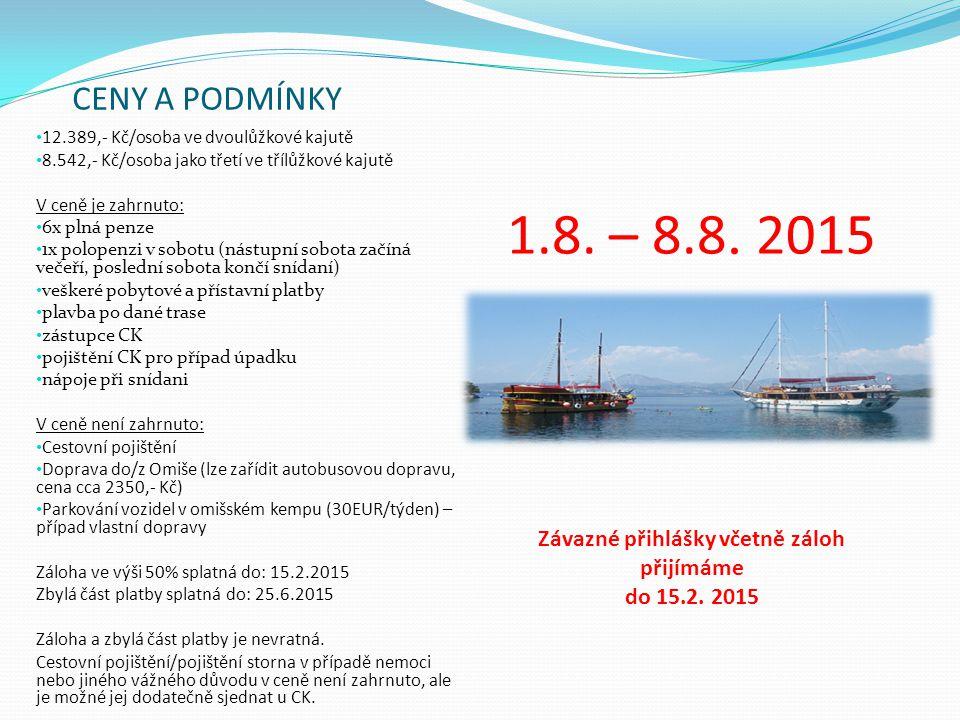 Pořadatel zájezdu: Natur Travel s.r.o.dr.