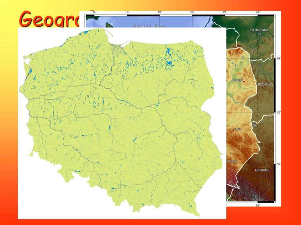Geografie Využití půdy: Využití půdy: 47 % rozlohy Polska tvoří orná půda, 29 % tvoří lesy, pastviny 13 %, ostatní 11 % Ochrana přírody: Ochrana příro