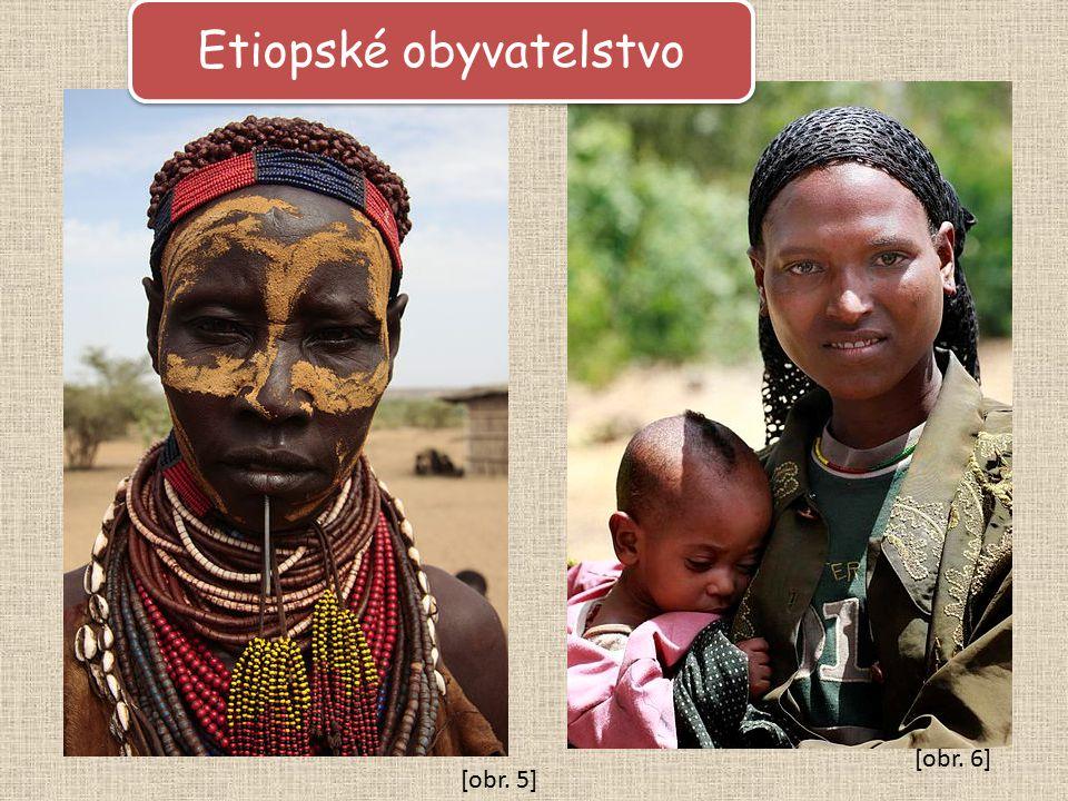 Etiopské obyvatelstvo [obr. 6] [obr. 5]