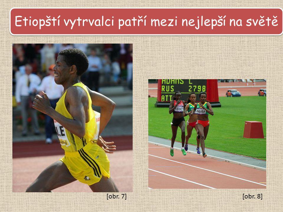 Etiopští vytrvalci patří mezi nejlepší na světě [obr. 8][obr. 7]