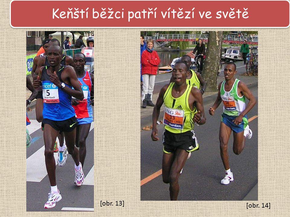 Keňští běžci patří vítězí ve světě [obr. 13] [obr. 14]