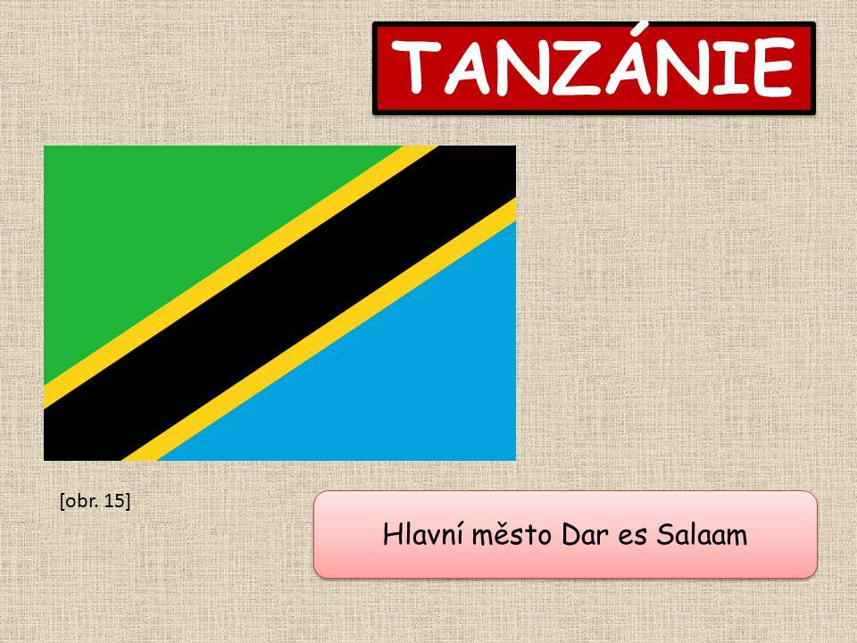 TANZÁNIE Hlavní město Dar es Salaam [obr. 15]