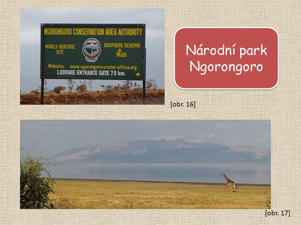 Národní park Ngorongoro [obr. 17] [obr. 16]