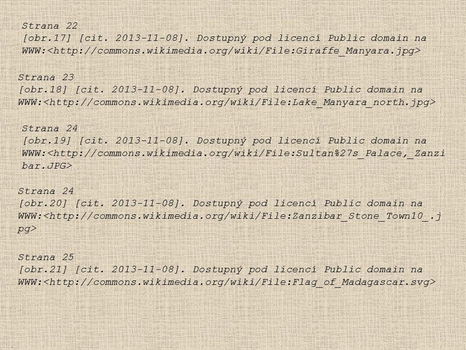 Strana 22 [obr.17] [cit. 2013-11-08]. Dostupný pod licencí Public domain na WWW: Strana 23 [obr.18] [cit. 2013-11-08]. Dostupný pod licencí Public dom