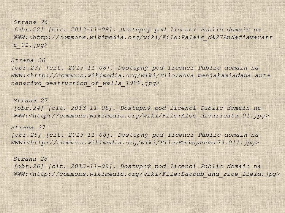 Strana 26 [obr.22] [cit. 2013-11-08]. Dostupný pod licencí Public domain na WWW: Strana 26 [obr.23] [cit. 2013-11-08]. Dostupný pod licencí Public dom