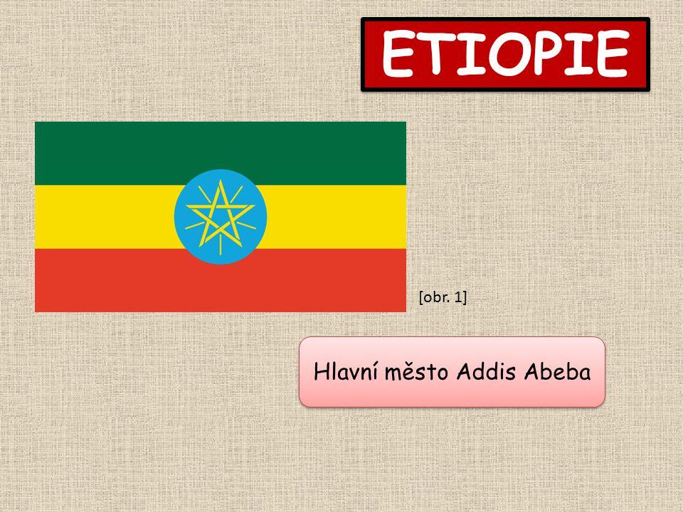 ETIOPIE Hlavní město Addis Abeba [obr. 1]