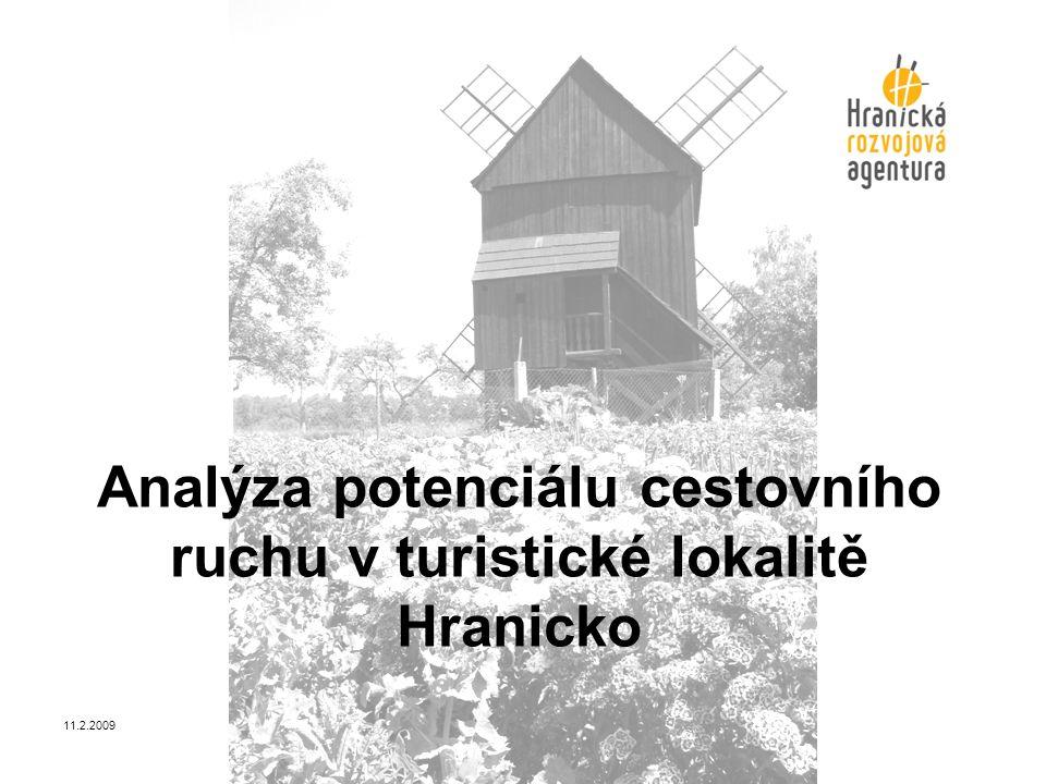 Analýza potenciálu cestovního ruchu v turistické lokalitě Hranicko 11.2.2009