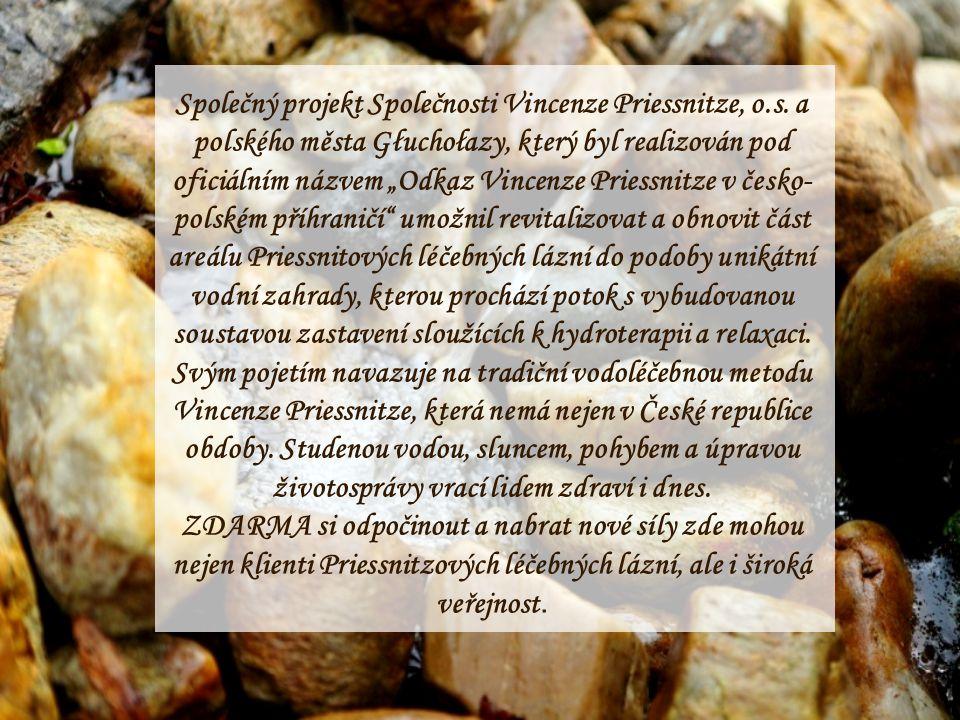 Společný projekt Společnosti Vincenze Priessnitze, o.s.