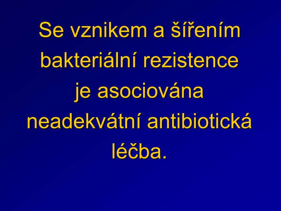 Zásady antibiotické léčby bakteriálních infekcí Podat antibiotikum včas.