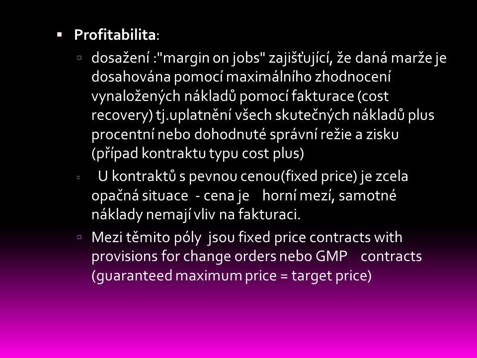  Profitabilita:  dosažení :