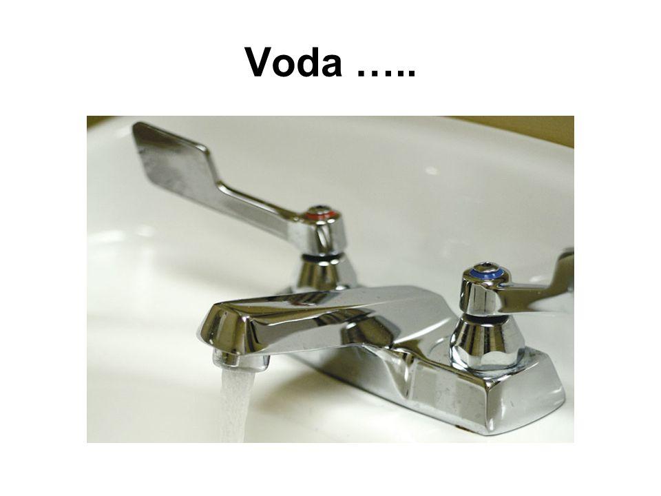 Voda …..