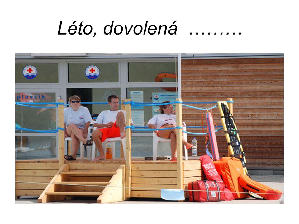 Léto, dovolená ………