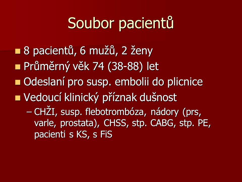 Pac. 81 let, CABG, FiS, KS scinti +, CTPA - Transversální řezy