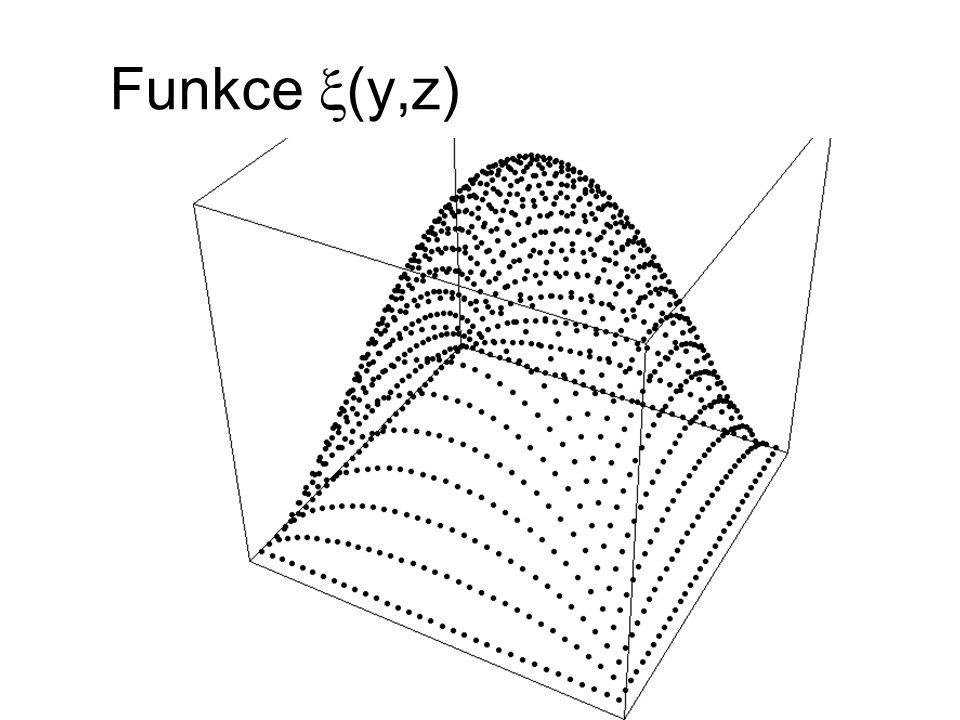 Funkce  (y,z)