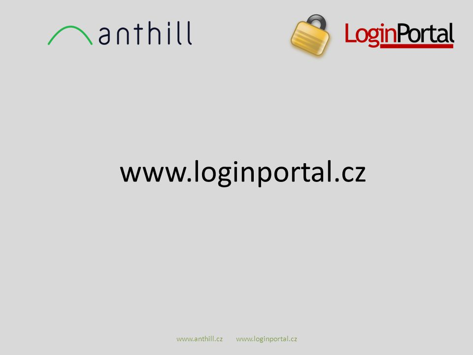 www.anthill.cz www.loginportal.cz www.loginportal.cz