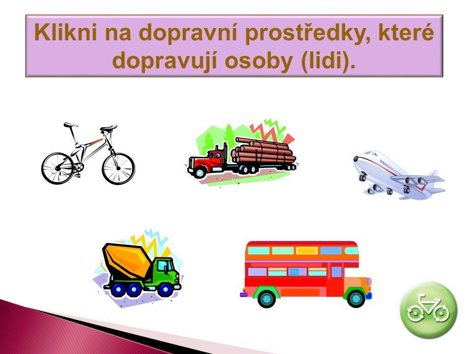 Klikni na hlavní typy dopravy v ČR. Letecká ŽelezničníLodní Silniční