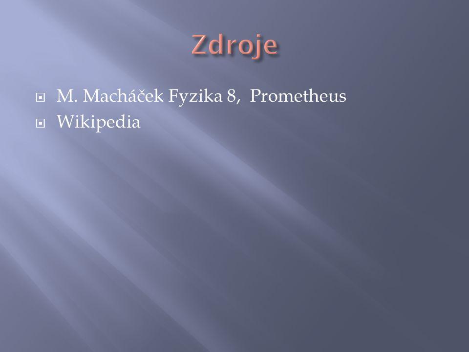  M. Macháček Fyzika 8, Prometheus  Wikipedia
