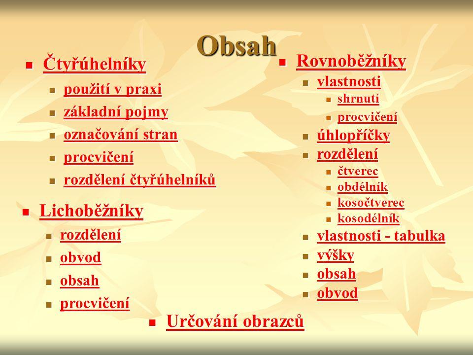 Rozdělení rovnoběžníků a jejich vlastnosti pravoúhelníky pravoúhelníky čtverec čtverec obdélník obdélník kosoúhelníky kosoúhelníky kosočtverec kosočtverec kosodélník kosodélník