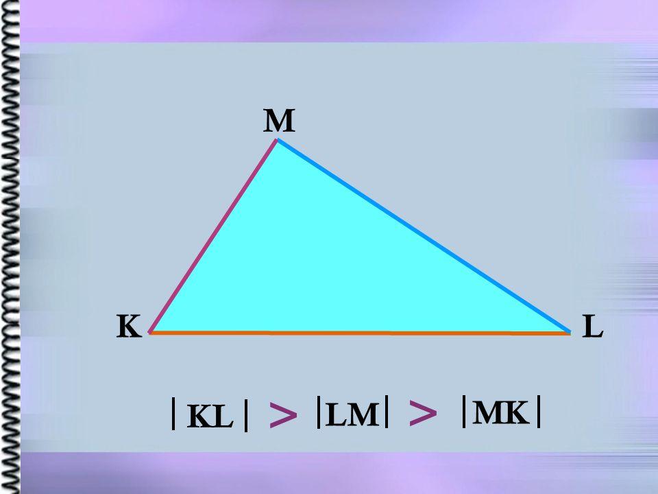 K L M KL LM MK > >