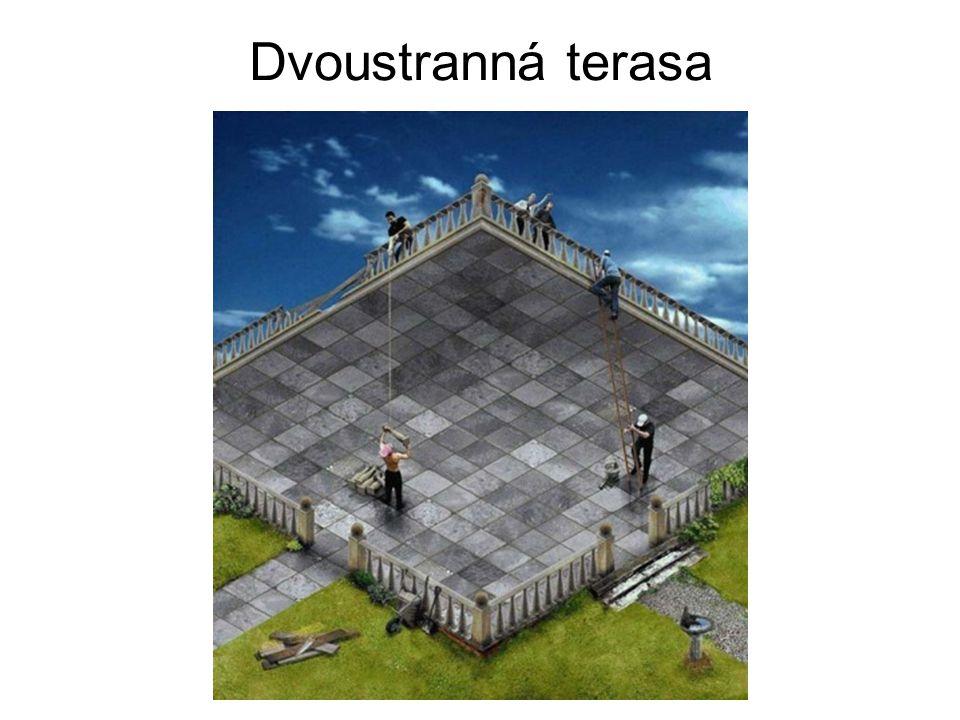 Dvoustranná terasa