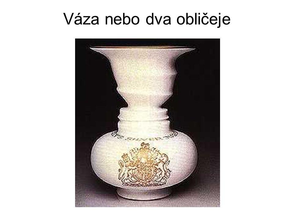 Váza nebo dva obličeje