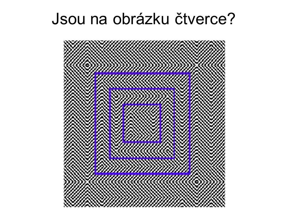 Jsou na obrázku čtverce?