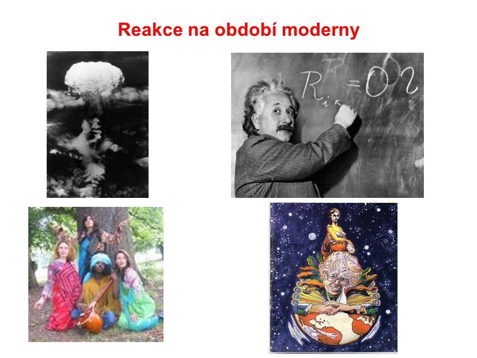 Reakce na období moderny