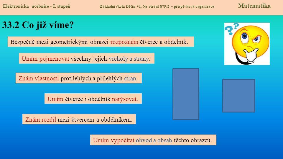 33.3 Jaké si řekneme nové termíny a názvy.Elektronická učebnice - I.