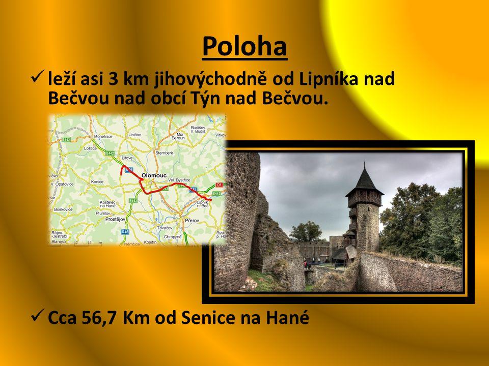 Historie Je to zřícenina jednoho z největších hradů v českých zemích Hrad založil pravděpodobně mezi léty 1306- 1312 slezský šlechti Friduš z Linavy po bitvě na Bílé hoře byl zkonfiskován Až do roku 1656 sloužil hrad jako vojenská pevnost