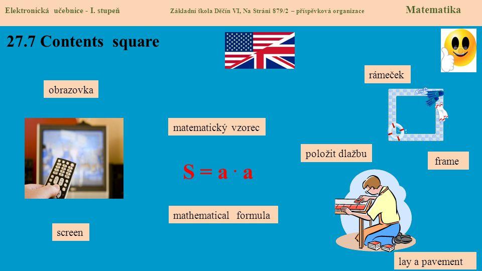27.7 Contents square Elektronická učebnice - I.