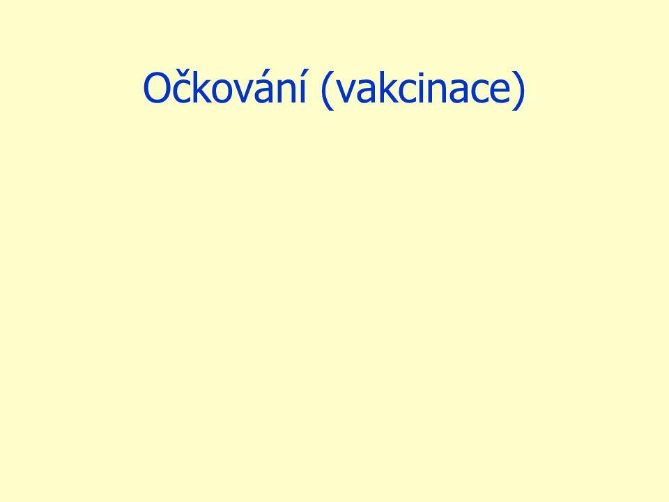 Očkování (vakcinace)