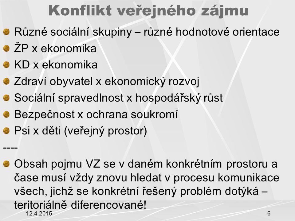 Konflikt v rámci sektoru šetrné energie x tvář krajiny 12.4.20157