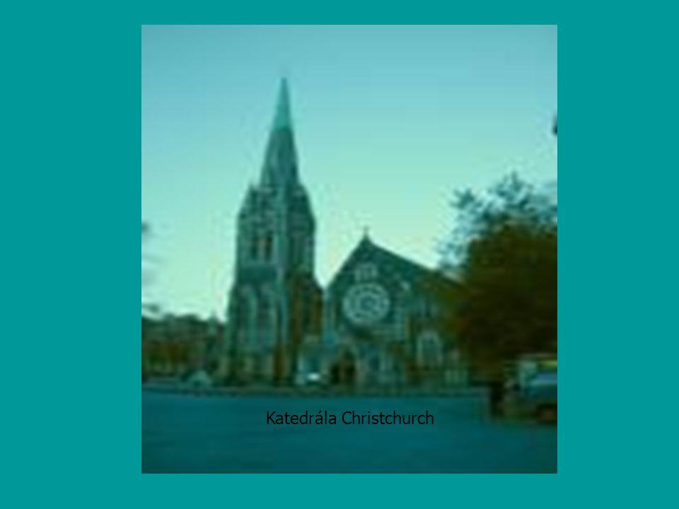 Katedrála Christchurch