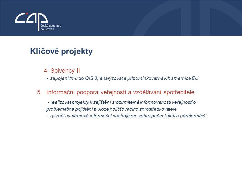 VODNÍ BOHATSTVÍ ČESKÉ REPUBLIKY Klíčové projekty 4.