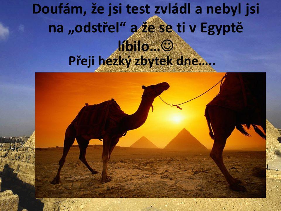 Chceš vidět a provést Egyptem? (- stačí kliknout myší)