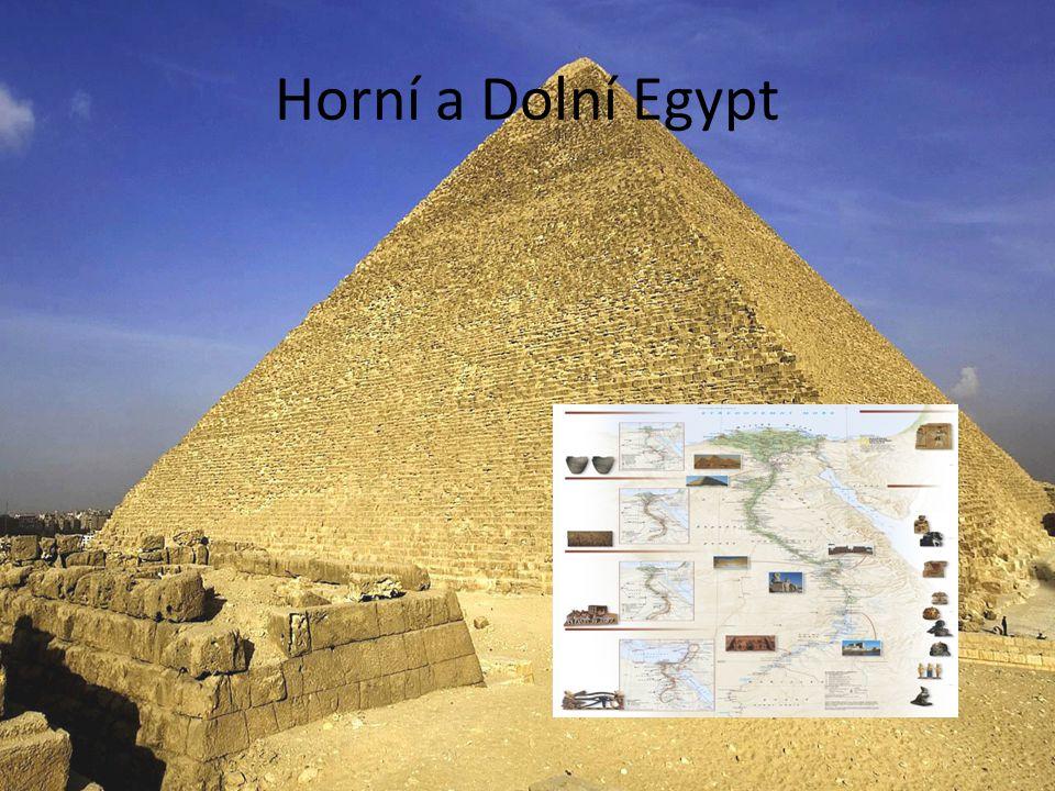 Horní a Dolní Egypt V roce 3 100 př.n.l.