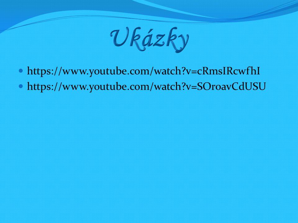 https://www.youtube.com/watch?v=cRmsIRcwfhI https://www.youtube.com/watch?v=SOr0avCdUSU