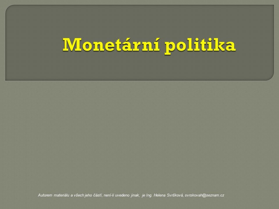 Autorem materiálu a všech jeho částí, není-li uvedeno jinak, je Ing. Helena Svršková, svrskovah@seznam.cz