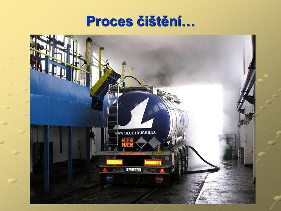 Proces čištění…